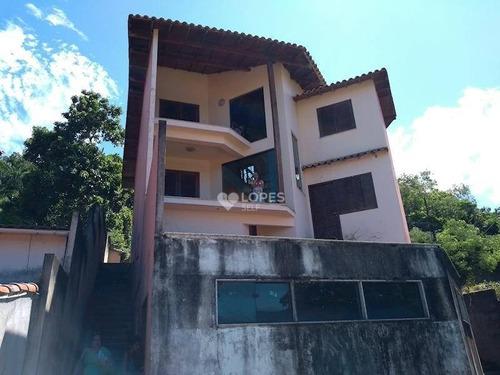 Imagem 1 de 13 de Casa Com 3 Dormitórios À Venda, 280 M² Por R$ 450.000,00 - Itaipu - Niterói/rj - Ca15396