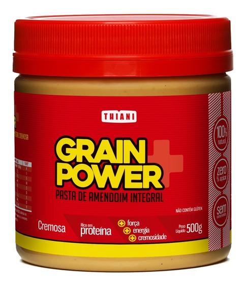 Pasta De Amendoim Grain Power Integral Cremosa Thiani 500g