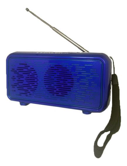 Caixa De Som L9 Antena Bluetooth Radio Fm Usb Suporte