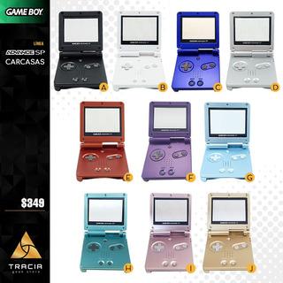 [ Carcasa Gameboy Advance Sp ] Gba Colores 001 101 | Tracia
