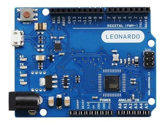 Arduino Leonardo (já Programado Para Joystick/volante) + Sem Cabo Usb
