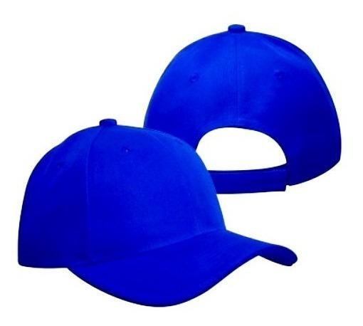 Gorras Azul Rey Acrílicas Para Bordar (tienda Fisica)