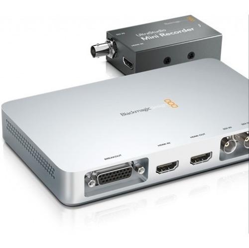 Blackmagic Ultrastudio Mini Recorder Thunderbolt 12 Cuotas Mercado Libre