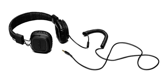 Fone Headphone Marshall Major Pitch Preto Garantia 2 Anos