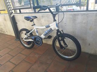 Bicicleta Raleigh Mxr Rodado 16 Aluminio Y Lista Para Usar