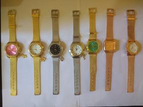 Relógio Feminino Pulseira De Aço Inoxidável