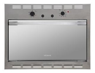 Forno A Gás De Embutir 90 Litros 5 Ajustes Temperatura Venax