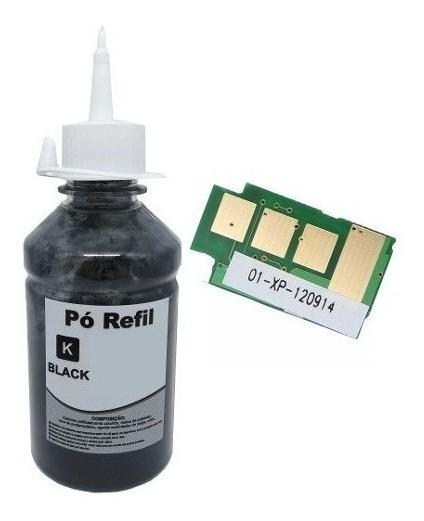 Recarga Refil Toner Mlt-d101 Scx3405 3405w Ml 2165w + Chip