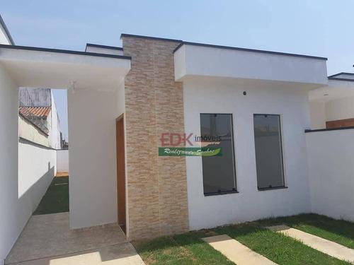 Imagem 1 de 7 de Casa Com 2 Dormitórios À Venda, 70 M² Por R$ 235.000,00 - Parque Aeroporto - Taubaté/sp - Ca6217