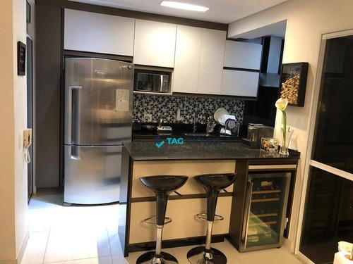 Imagem 1 de 27 de Apartamento Com 3 Dormitórios À Venda, 80 M² Por R$ 560.000,00 - Ponte Preta - Campinas/sp - Ap2423