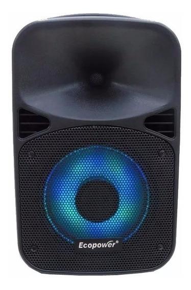 Caixa De Som Ecopower Ep-s308 - 8 Polegadas -- Bluetooth