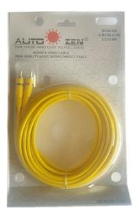 Cable Rca Audio De 6 Metros Alta Definicion Y Cero Ruido