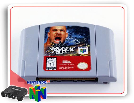 Wcw Mayhem Original N64 Nintendo 64