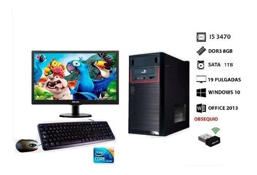 Imagen 1 de 2 de Computadora I5 Monitor Teclado Y Mouse