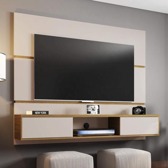 Painel Para Tv Até 65 Polegadas 2 Portas Âmbar Cf