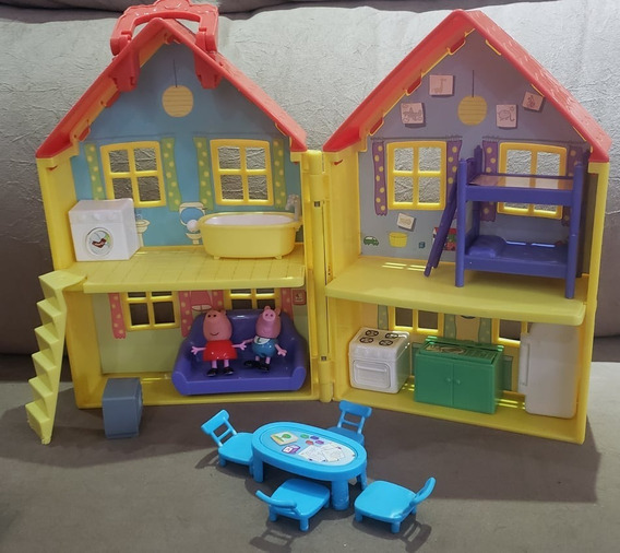 Peppa Pig Casa Maleta Fisher Price
