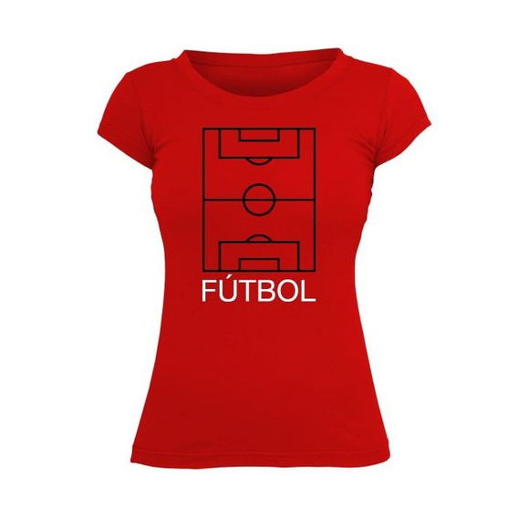 Fútbol Frases Cancha Remera M