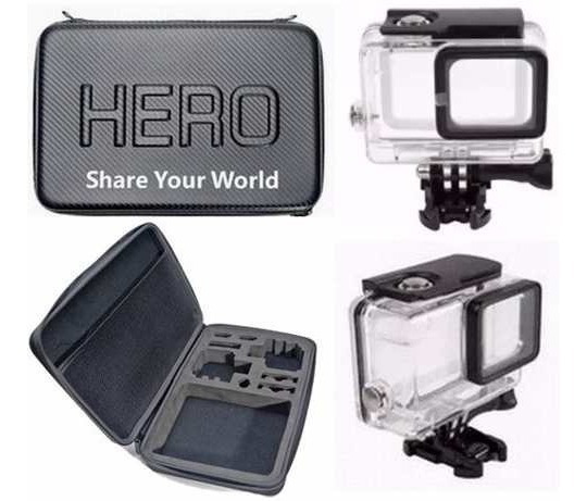 Gopro Hero 5 6 Black Caixa Estanque Maleta Case Impermeável