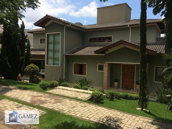 Casa Residencial À Venda, Condomínio Fechado, Atibaia - Ca0599. - Ca0599