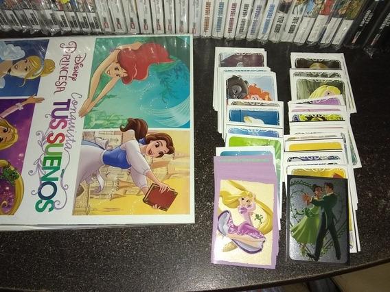 """Panini Disney Princesa mapas /""""el corazón de una princesa/"""" 6 unidades elegibles"""