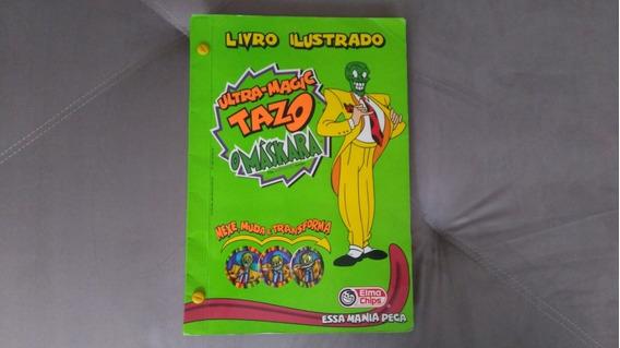 Álbum Tazos Maskara Completo - Colecionador