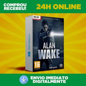 Alan Wake - Pc + Expansão, Português Envio 0 Segundo