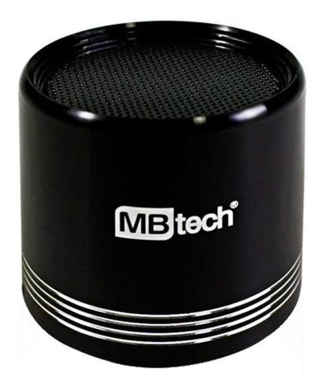 Caixa Acústica Bluetooth Portátil 3w Rms Mb84353 Mbtech