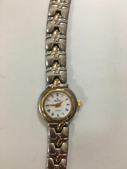 Relógio Bulova Prateado Feminino