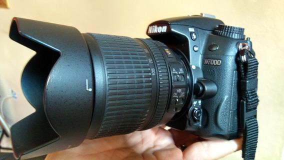 Câmera Nikon Profissional D7000 Ótimo Estado