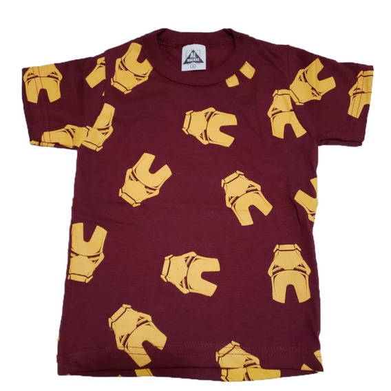 Kit 5 Camiseta Infantil Criança Menino Manga Curta Revenda