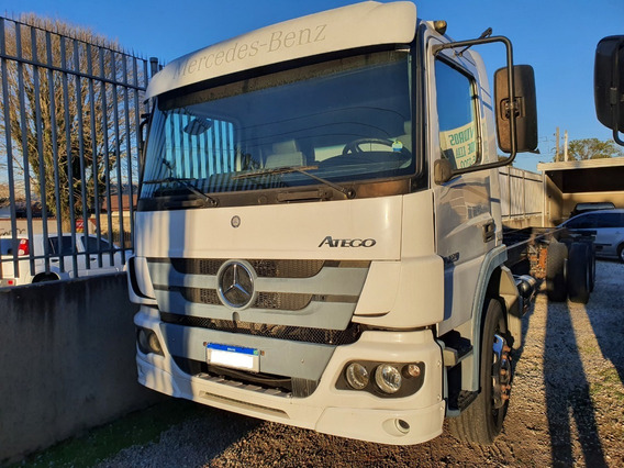 Mb Atego 2429 Ano 2013 Truck 6x2 No Chassi