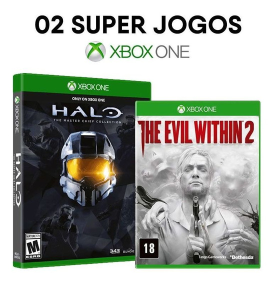 Halo Master Chief 1,2,3 E 4 + The Evil Within 2 - Xbox One