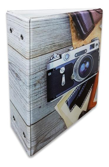 Álbum Câmera Fotográfica P/ 500 Fotos 10x15 183557