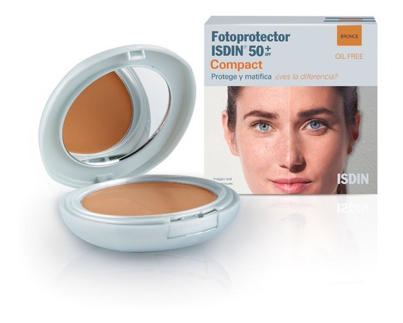 Isdin Fotoprotector Compact 50+ Color Bronce 10 Gr