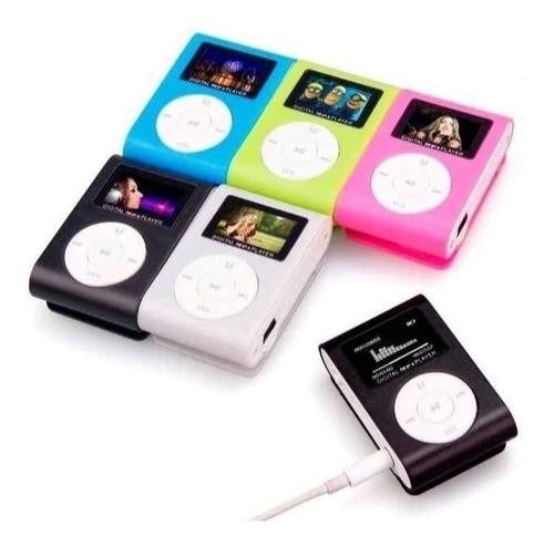 Mp3 Radio Fm Con Pantalla Audifono 32gb
