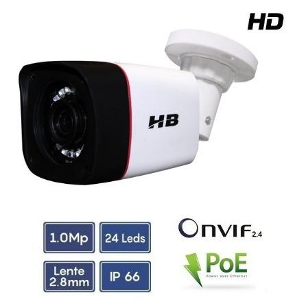 Câmera Ip Poe 1mp 1/4 Infra 20m - Hb901