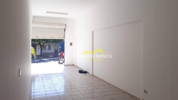 Salão Para Alugar, 40 M² Por R$ 700 - Parque São Jerônimo - Americana/sp - Sl0190