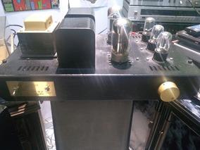 Amplificador Audiopax Kt88 Com Par De Caixas Audipax