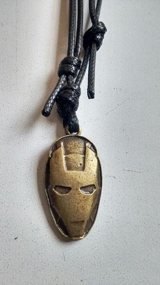 Colar Masculino Feminino Homem De Ferro, Liga Da Justiça.