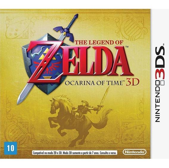 The Legend Of Zelda Ocarina Of Time 3d - 3ds Novo Lacrado