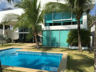 18-1187ml Iluminada Casa En Coco Del Mar