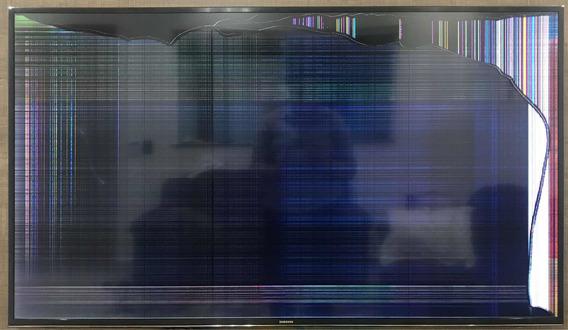 Tv Samsung 55 Tela Quebrada Para Tirar Peças