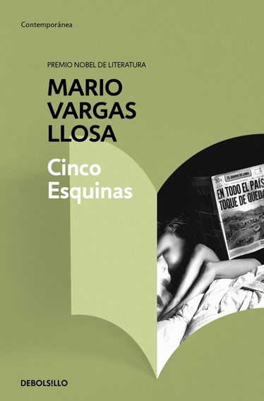 Cinco Esquinas - Mario Vargas Llosa - Nuevo - Original