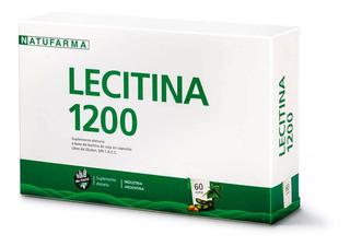 Lecitina 1200 Natufarma Suplemento Dietario X 60 Capsulas .