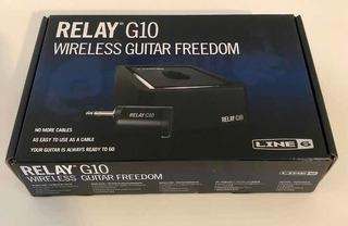 Line 6 Relay G10 Sistema Inalámbrico De Guitarra Nuevo