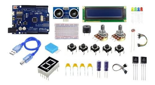 Imagen 1 de 1 de Kit Arduino Uno Inicial !