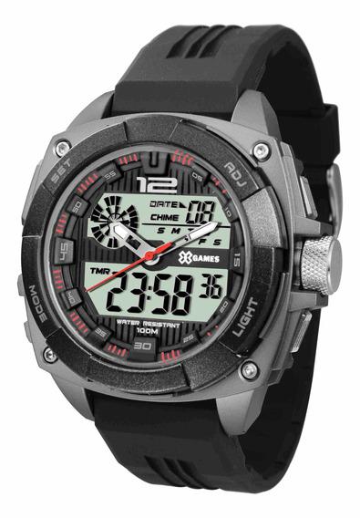 Relógio Xgames Anadigi - Xmppa261 Bxpx C/ Nf E Garantia O