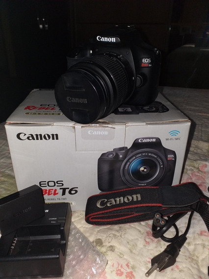 Máquina Fotográfica Canon T6