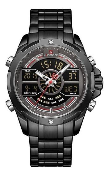 Relógio Masculino Naviforce 9170 Original Esporte Fino Luxo