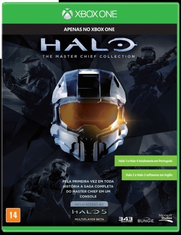 Halo: Master Chief Collection Para Xbox One Midia Fisica!
